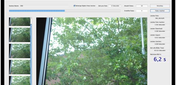 Erste 360° Produktfotos direkt mit einem Apple iMac erstellt