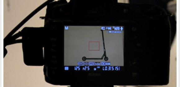 Detailzoom im 360° Produktfoto
